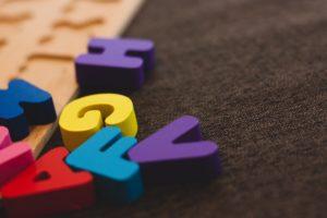 zdjęcie liter